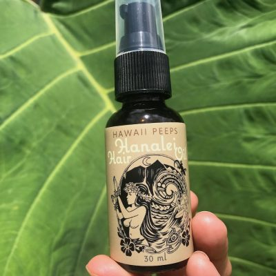 Protect and nourish hair with Hanalei Hair Oil