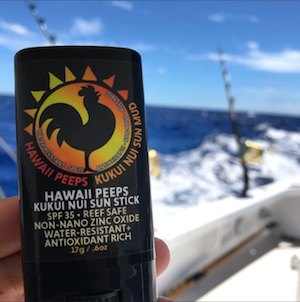 Kukui Nui Mineral Sunscreen Stick for Fishermen