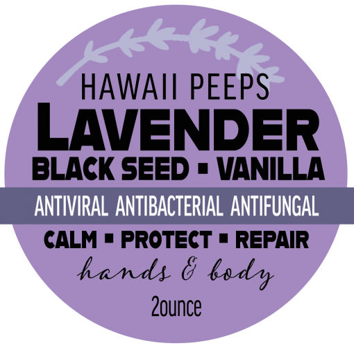 Lavender Black Seed Vanilla Balm