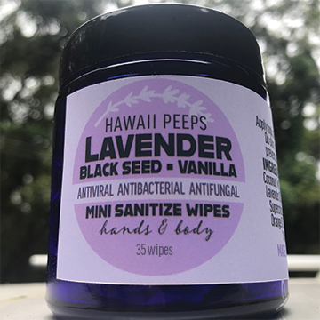 Natural Antiseptic Wipes