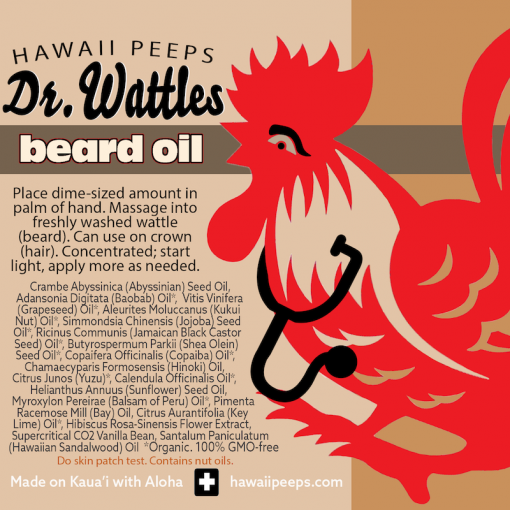 Hawaii Made Beard Oil
